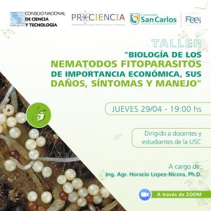 Taller de Biología de los Nematodos Fitoparásitos de importancia económica, sus daños, síntomas y manejo