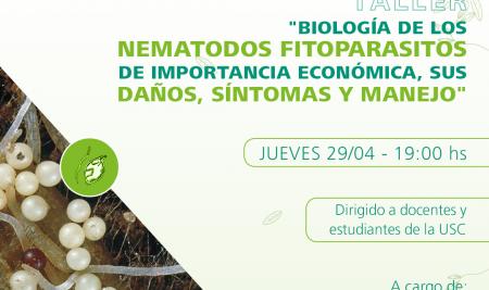 El Ing. Agr. Horacio López Nicora disertó sobre los nematodos en los cultivos