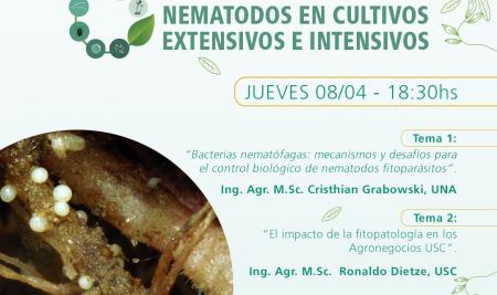 """Primer webinar antesala de """"Primera conferencia internacional de fitopatología en Paraguay"""""""