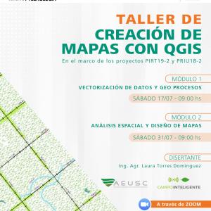 Taller de Creación de Mapas con QGIS